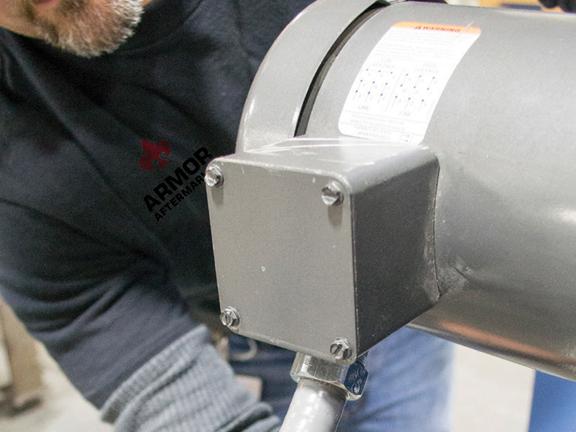 Armor Aftermarket Planned Maintenance Repair Performed by Worker