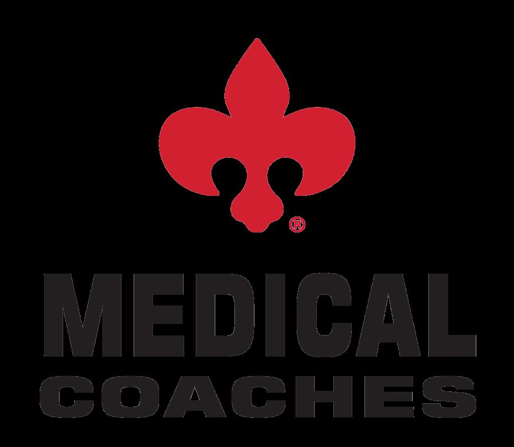 Medical Coaches 2020 Logo Transparent Background for Aftermarket